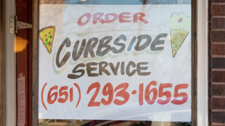curbside service restaurant
