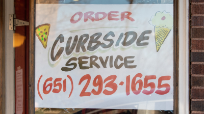 curbside service restaurant