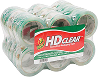 Duck Brand Clear Heavy Duty Packaging Tape