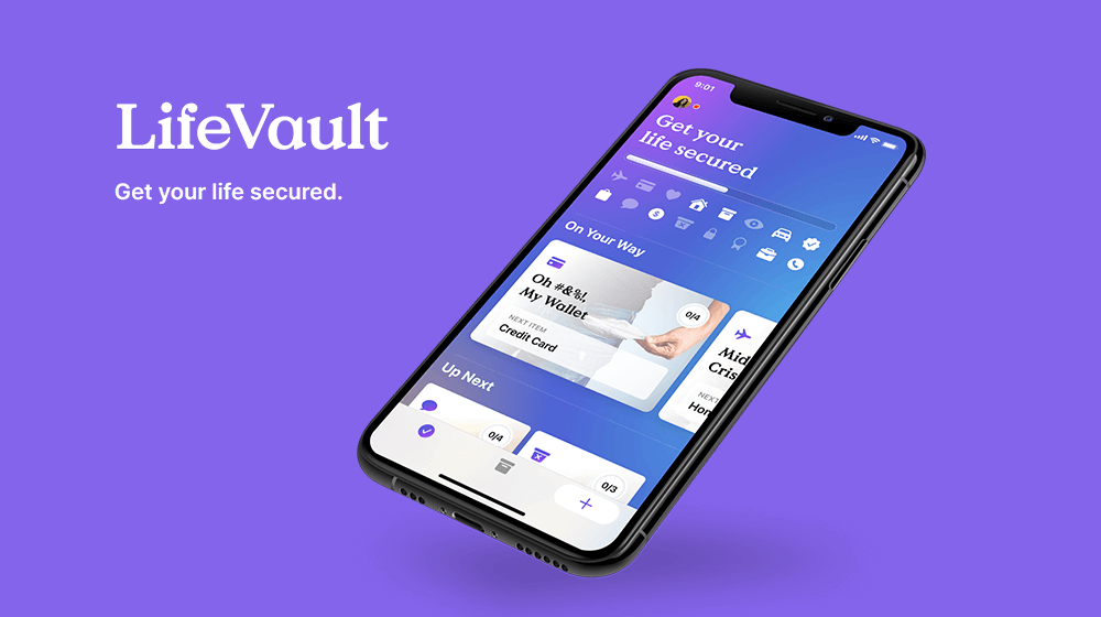 LifeVault Mobile Cloud Storage