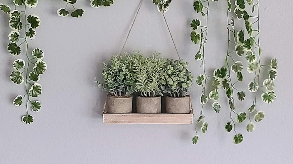 Hampton Squares Artificial Plants Set of 3