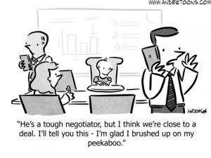 negotiating with babies cartoon