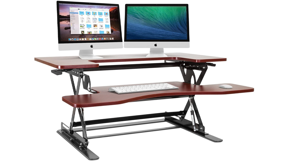 Halter Cherry Height Adjustable 36 Inches Stand Up Desk