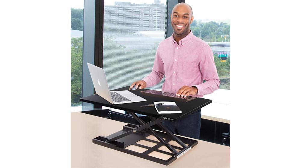Standing DeskStand Steady X-Elite Pro Standing Desk Converter