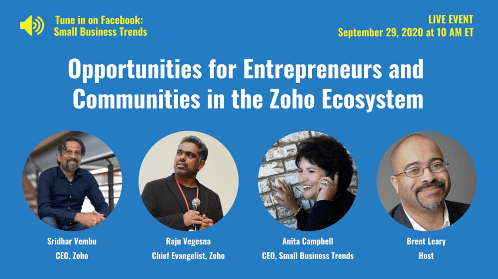 Opportunities for Entrepreneurs and Communities in the Zoho Ecosystem