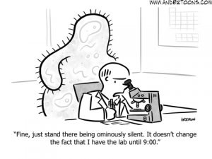business competition cartoon