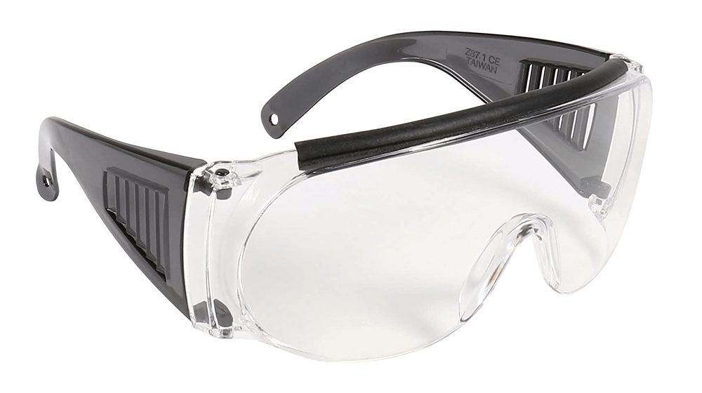Allen Company Shooting & Safety Fit Over Glasses for Use with Prescription Eyeglasses