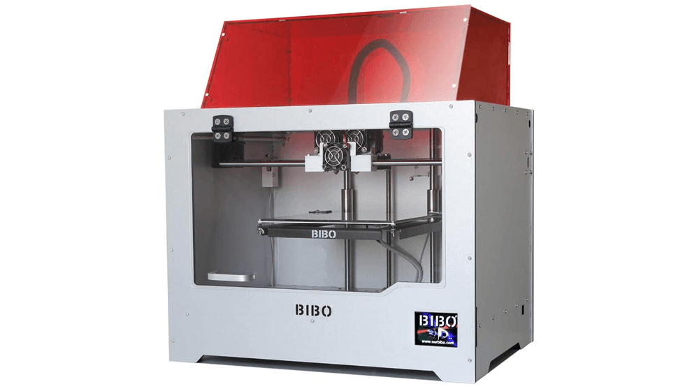 BIBO 3D Printer Dual Extruder Sturdy Frame