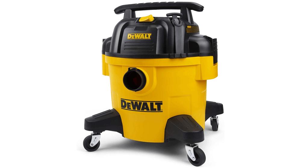 DeWALT DXV06P 6 gallon Poly Wet, Dry Vac, yellow