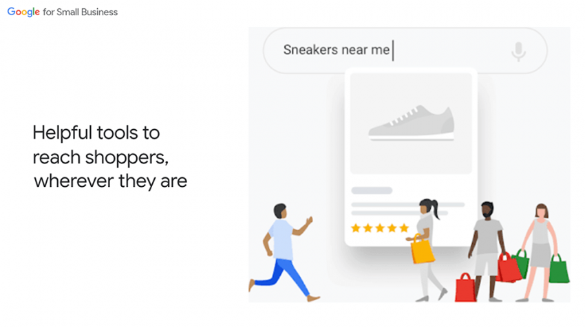 google small business holiday hub