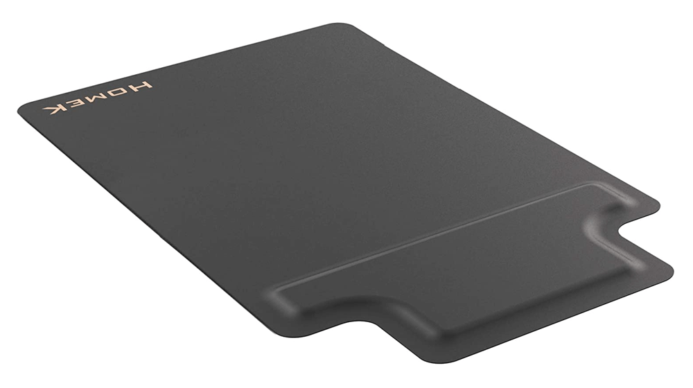 Homek Office Chair Mat for Hardwood Floor with Footrest - Standing Desk Anti Fatigue Mat (1)