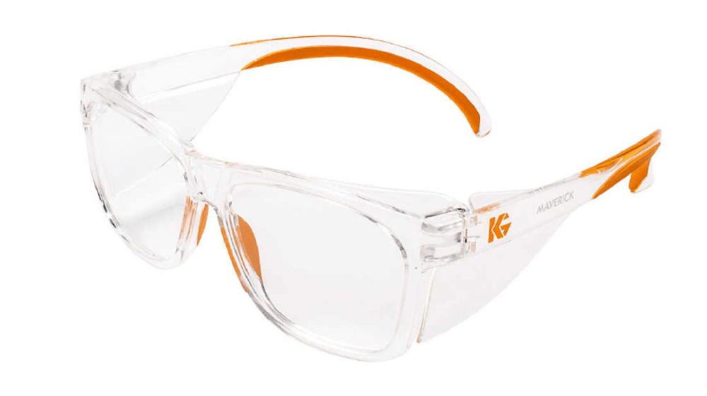 Kleenguard Maverick Safety Glasses with Intergrated Side Shields