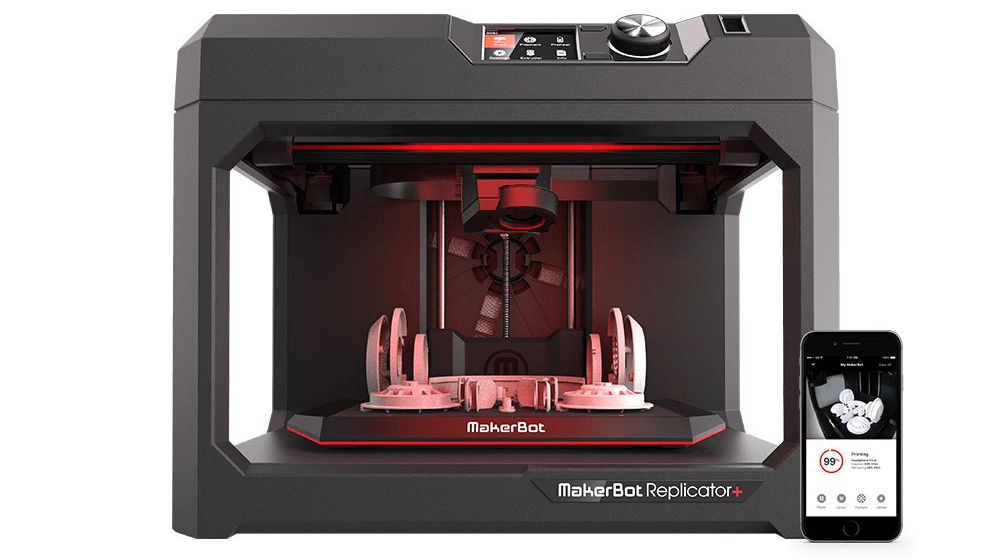MakerBot Replicator + 3D Printer