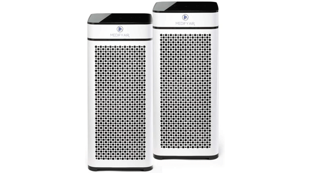 Medify Air MA-40-W2 V2.0 Air Purifier with H13 HEPA filter