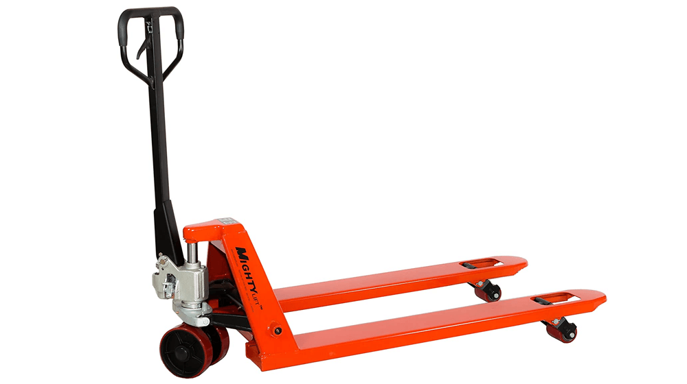 Mighty Lift ML55 Heavy Duty Pallet Jacks Trucks, 5,500 lb Capacity