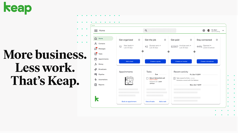 The New Keap Makes Automation for Small Business Easier