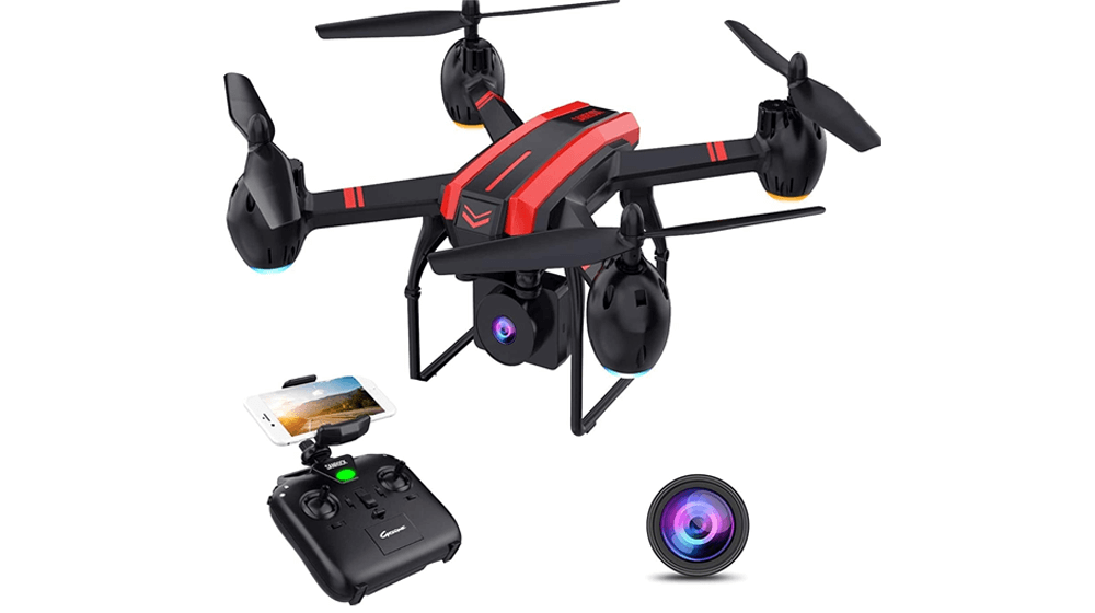 SANROCK X105W Drones with 1080P HD Camera for Adults and Kids