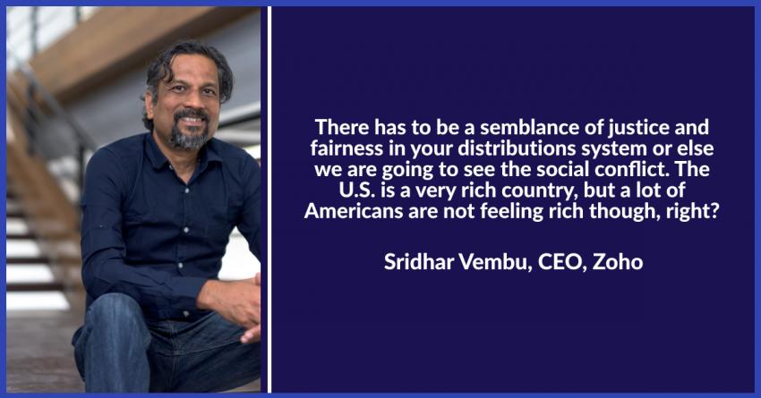 Sridhar Vembu interview