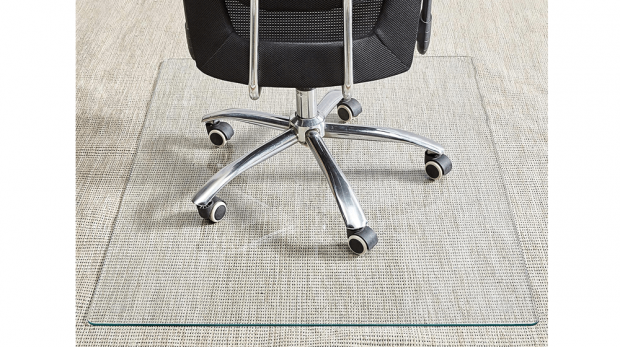 Tempered Glass Chair Mat, 36-Inch×46-Inch (1)