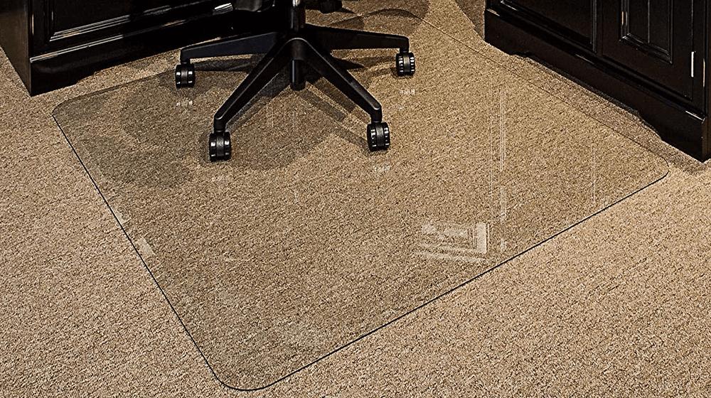Tempered Glass Chair Mat