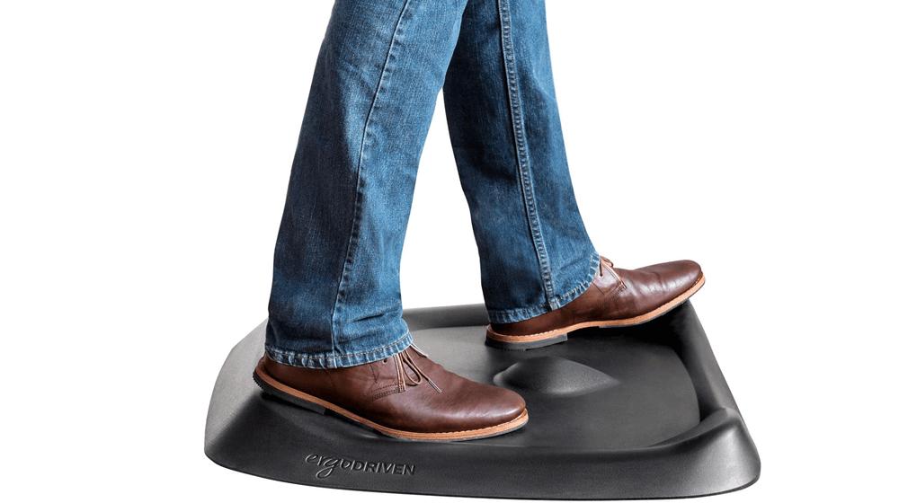 Topo Comfort Mat by Ergodriven , The Not-Flat Standing Desk Anti-Fatigue Mat with Calculated Terrain , Standing Desk Mat