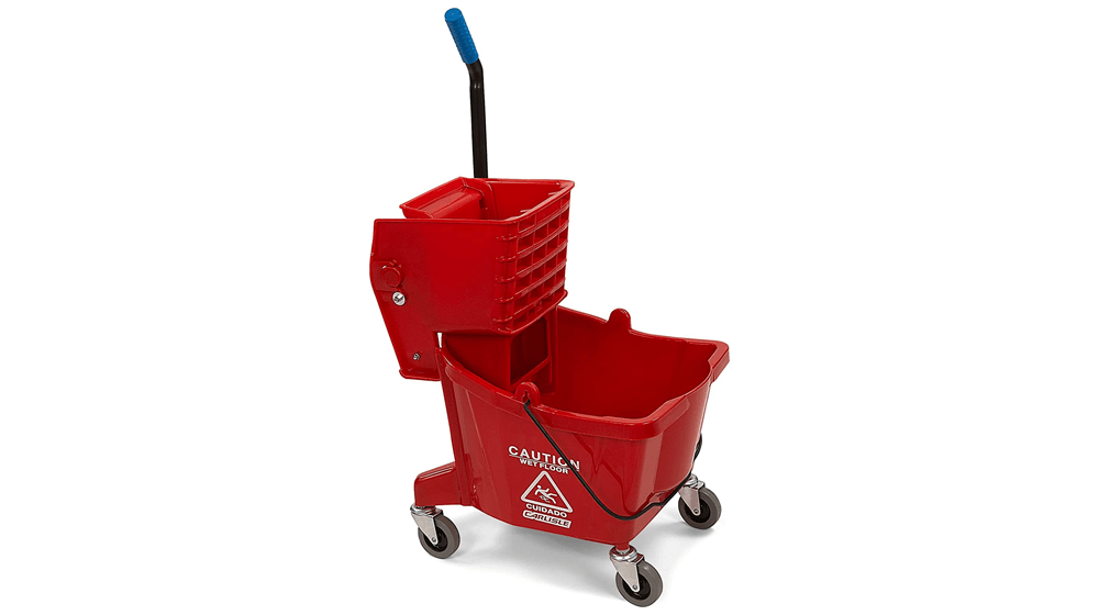 Carlisle 3690805 Commercial Mop Bucket with Side Press Wringer