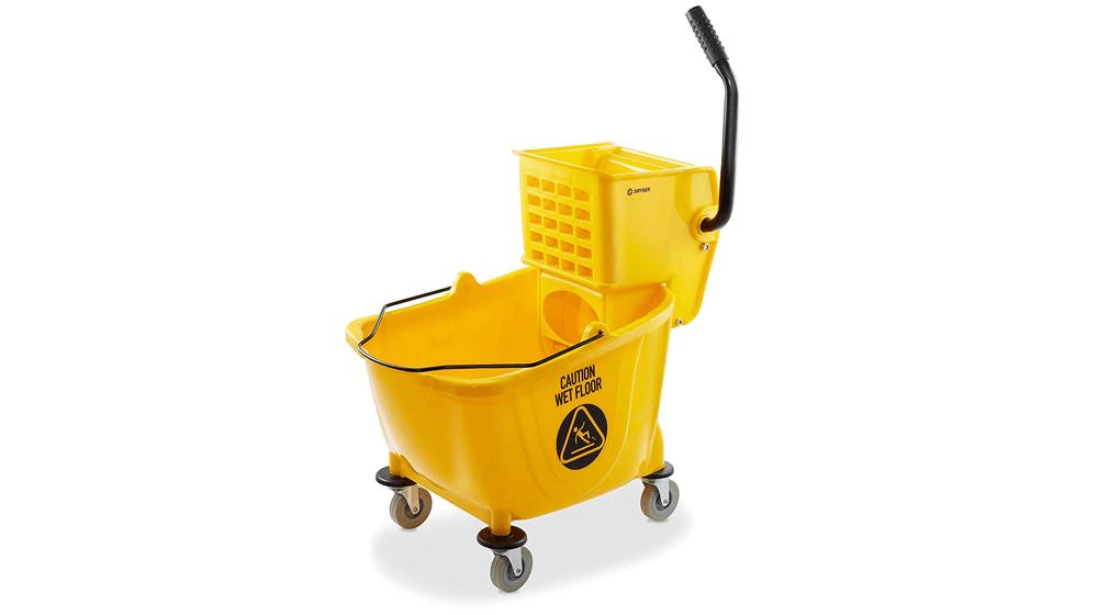 Dryser Commercial Side Press Wringer Combo Mop Bucket
