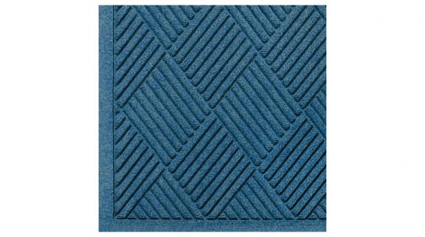 M+A Matting 221 Waterhog Fashion Diamond Polypropylene Fiber Entrance Indoor Floor Mat