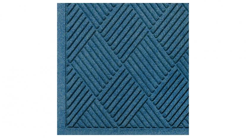 M+A Matting 221 Waterhog Fashion Diamond Polypropylene Fiber Entrance Indoor Floor Mat