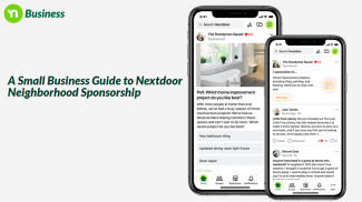 nextdoor sponsorships