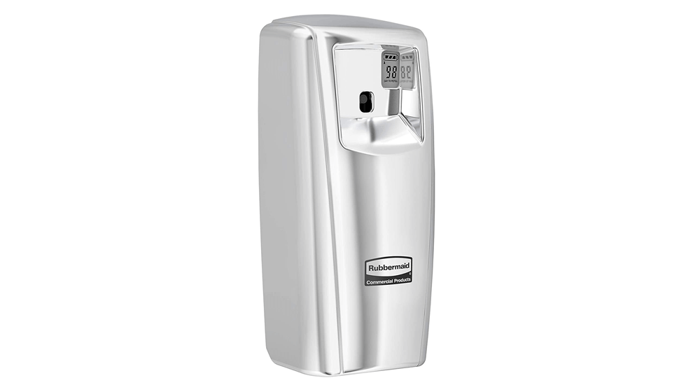 Rubbermaid Commercial Products 1793536 Microburst Automated Odor-Controlling Aerosol Air Care System