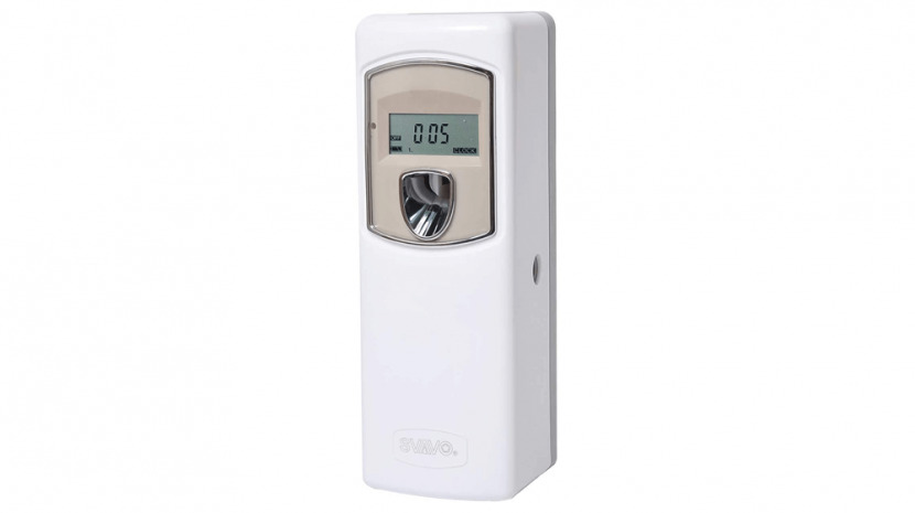 SVAVO Automatic LCD Fragrance Dispenser - Wall Mount-Free Standing ABS Auto Air Freshener Dispenser