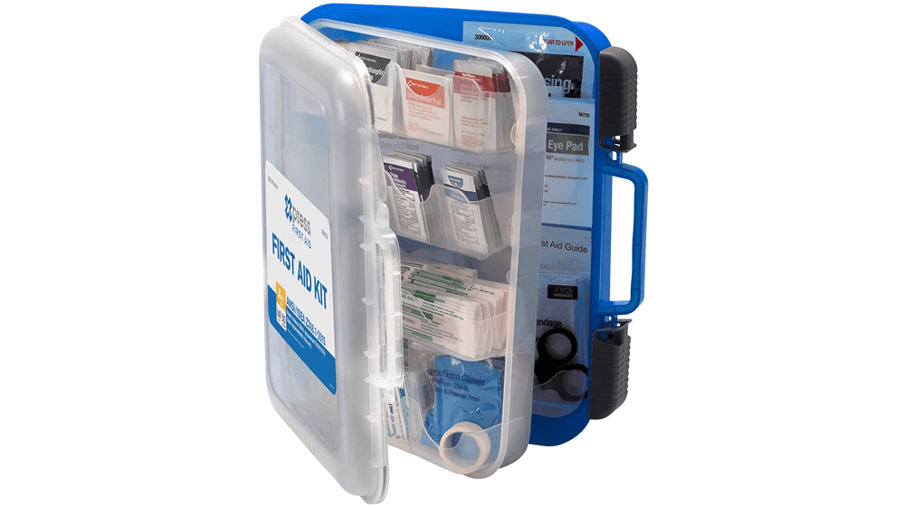 Xpress First Aid 250 Piece First Aid Kit, ANSI, OSHA Compliant