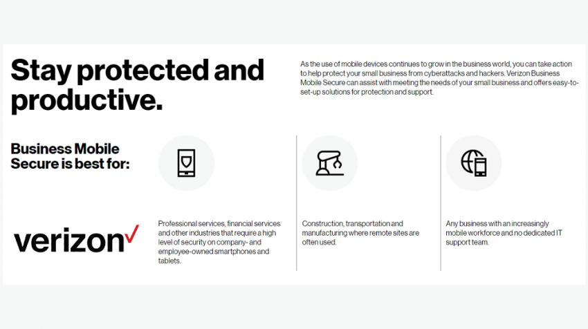 verizon business mobile secure