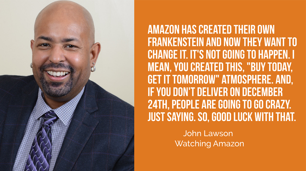 john lawson watching amazon