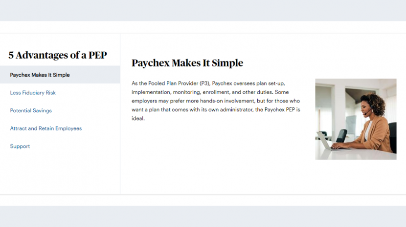 paychex pooled employer plan