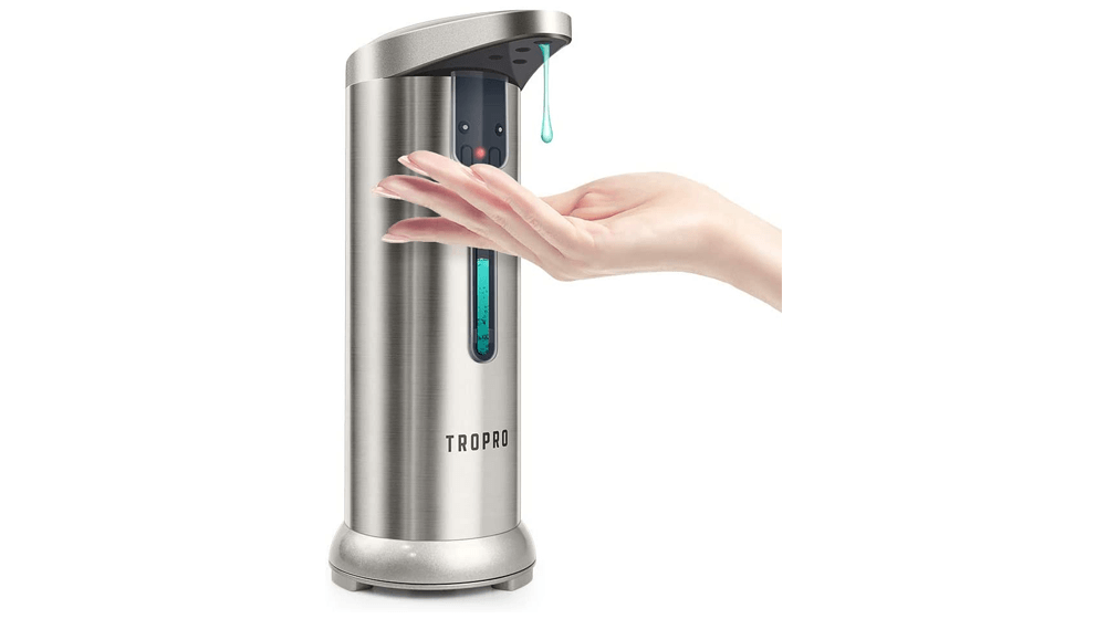 Automatic Soap Dispenser, TROPRO 7.5oz, 250ml Sensor Touchless Liquid Soap Dispenser