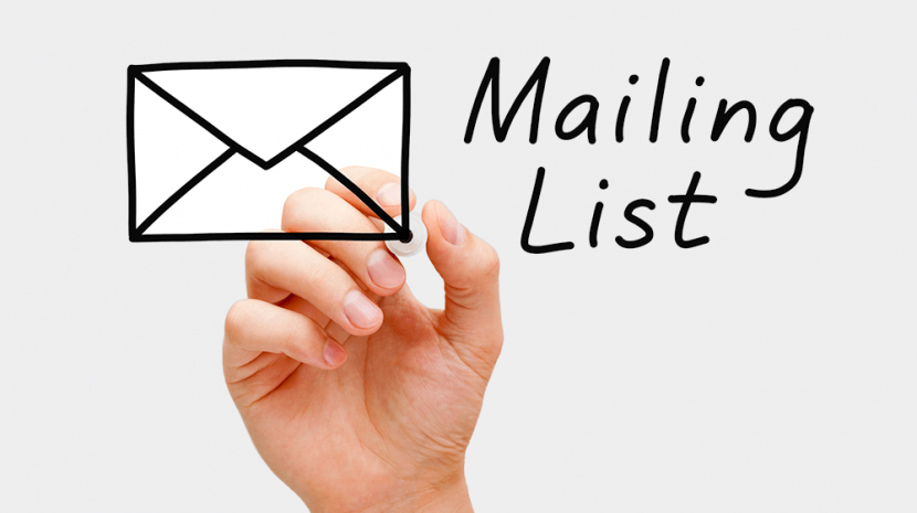 Build and maintain your email list