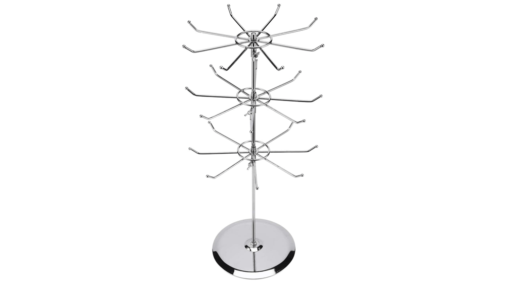 Display Stand 2 Tier, 3 Tier Counter Top Spinner Rack