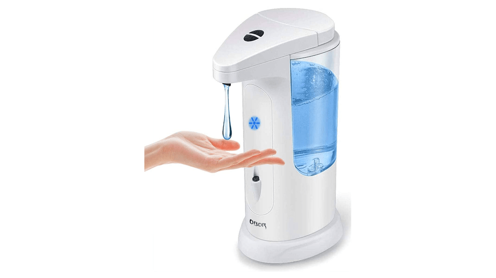 OBOR Automatic Soap Dispenser Touchless Smart Infrared Sensor Auto Soap Dispenser Hands-Free for Home