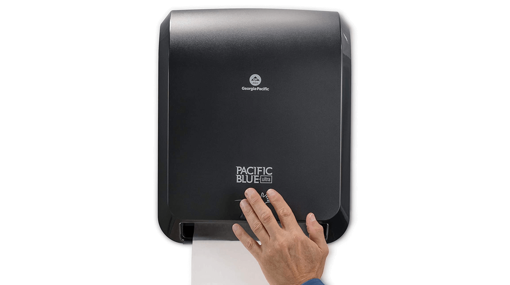 "Pacific Blue Ultra 8"" High-Capacity Automated Touchless Paper Towel Dispenser by GP PRO"