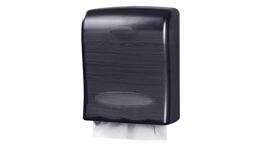 Touchless Paper Towel Dispenser by Oasis Creations - Wall Mount - Hold 500 Multifold Paper Towels
