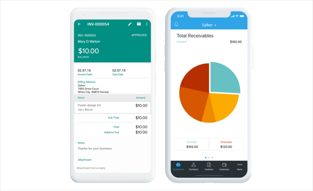 Zoho Invoice Built to Grow With Your Small Business