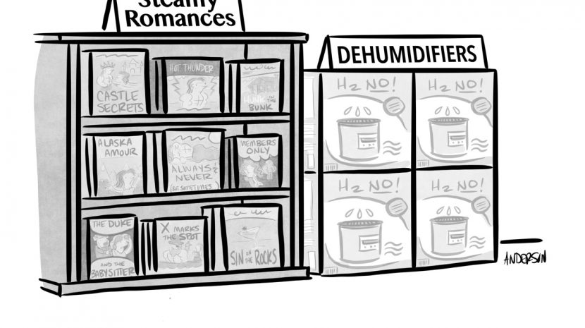 valentines day marketing cartoon