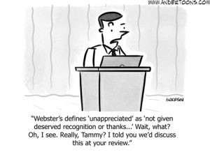 telling your brand story cartoon