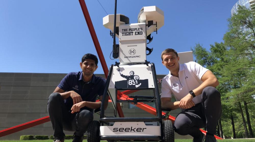 robotic quarterback to help athletes