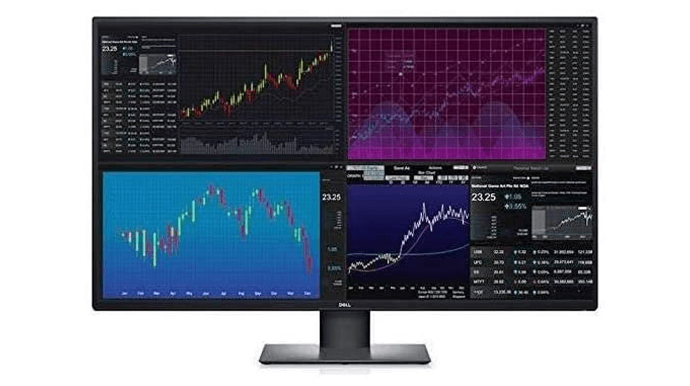 Dell U4320Q 43 Inch 2160p 4K UltraSharp, IPS Thin Bezel Monitor