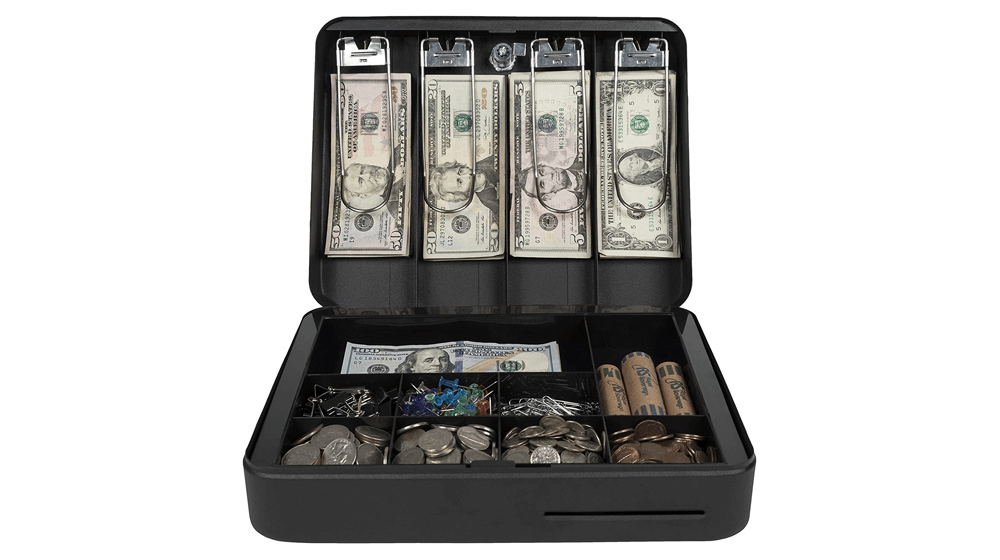 Royal Sovereign Money Handling Security Box Cash Box