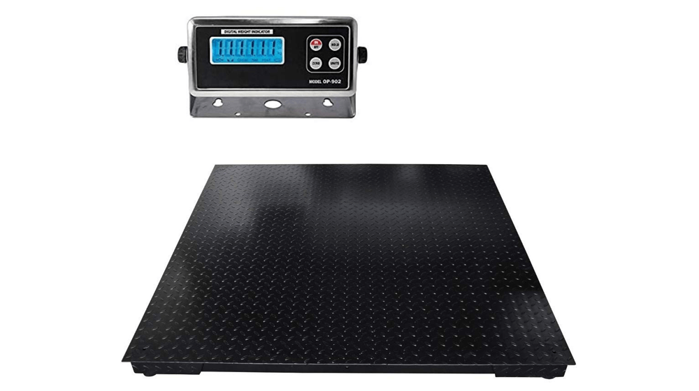 SellEton Floor Scales, Accurate Pallet Scales with Smart Metal Digital Indicator