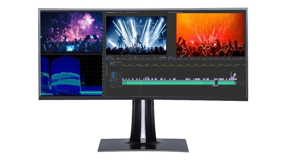 ViewSonic VP3881 38 Inch WQHD+ UltraWide Curved Monitor USB Type C